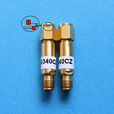 1×USED HP/Agilent 33340CZ DC-26.5GHz 13dB 2W 3.5mm Coaxial Fixed Attenuator
