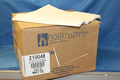 White - Color 2 Ply Tissue 1Ply Poly Tablecover, 54 x 54 inch -- 50 per case.