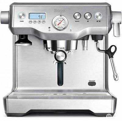 Sage by Heston Blumenthal BES920UK The Dual Boiler Coffee Machine Silver