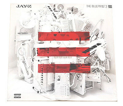 "Jay-Z - The Blueprint 3 - Double 12"" Vinyl Lp - Sealed & Mint"