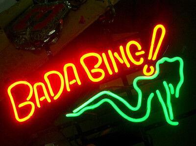 Bang Bang Neon Sign Display Garage Beer Bar Pub Mancave Real Light Custom Z366