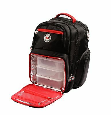 Prepped & Packed Zeus Meal Management Back Pack (Similar to 6 Pack Fitness Bags)