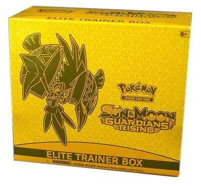 Pokemon TCG Sun & Moon Guardians Rising, Elite Trainer Box, New and Sealed