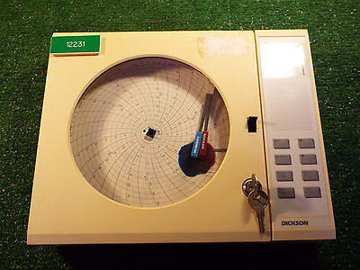 1 Used Dickson Thdx Temperature And Humidity Chart Recorder *** Make Offer ***