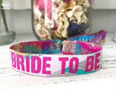 Bride To Be Hen Party Wristbands
