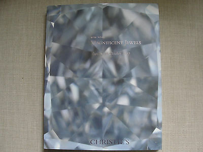 Christie's Auction catalog 1890 - Magnificent Jewels 16 October 2007 New York