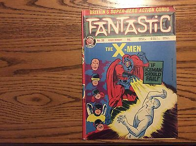 Fantastic 1967 A Power Comic ..no 35.. Magneto And The X-Men..