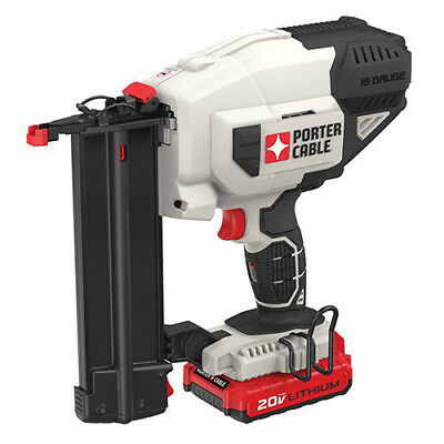 Porter-Cable PCC790LAR 20V MAX Li-Ion 18 Gauge Brad Nailer Kit Reconditioned