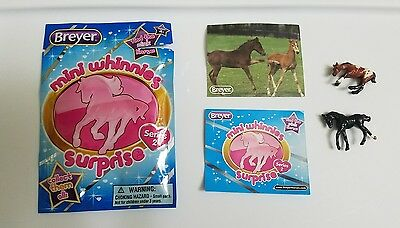 Breyer Mini Whinnies Surprise Series 2 Horse Blaze and Hero