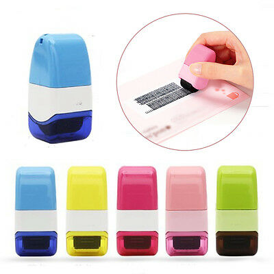 Safety Roller Security Seal Stamper Code Protecter Guard Your ID Identity Theft