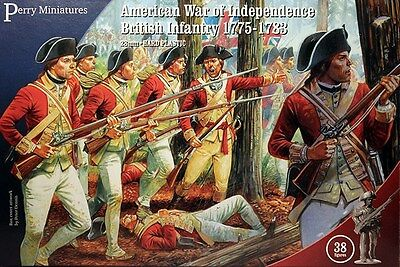 Perry Miniatures American War of Independence British Infantry 1775-1783 AWI01