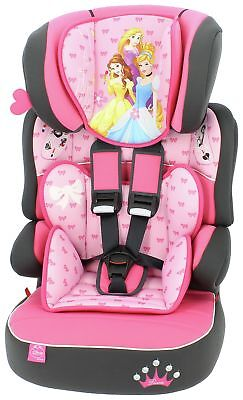TT Disney Princess Beline High Back Booster Seat Group 1-2-3