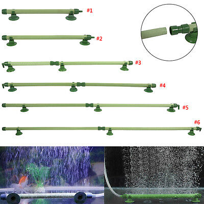 Bubble Wall Tube Air Stone Curtain Aquarium Fish Tank Airstone Oxygen Enriched