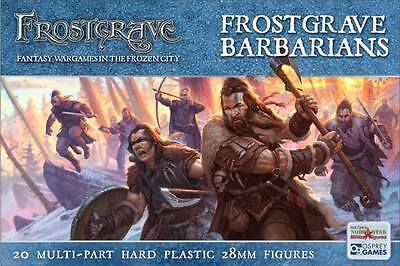 Frostgrave Barbarians 20 Multi Part Figures 28mm Scale Miniatures