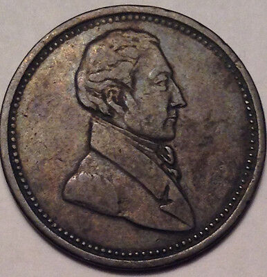 "1820-1830 Lower Canada Half Penny Token Commercial Change Br. 1007 ""6+D"""