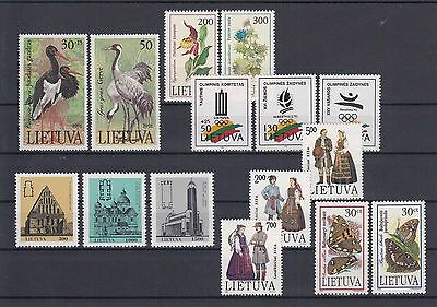 90.602/ Litauen ** MNH Lot 2 Scans