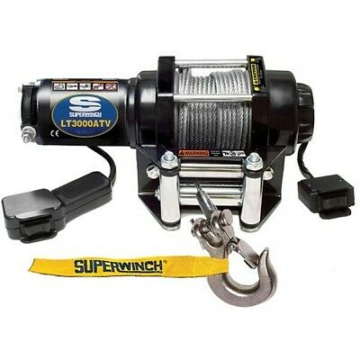 Superwinch LT3000 12v Electric Winch Towing Recovery Trailer 4x4 Boat ATV Truck