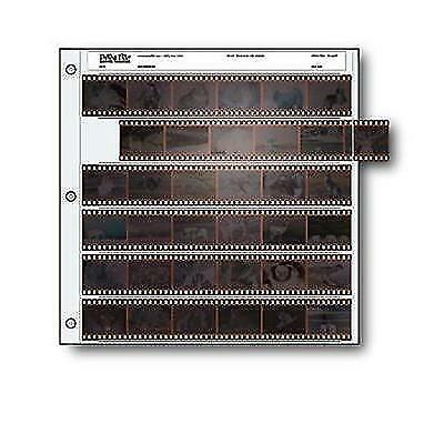 Archival 35mm Size Negative Pages Holds Six Strips of Six Frames, Pack of 25 New