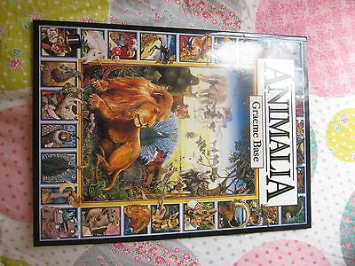 Animalia by Graeme Base Paperback book NEW free postage