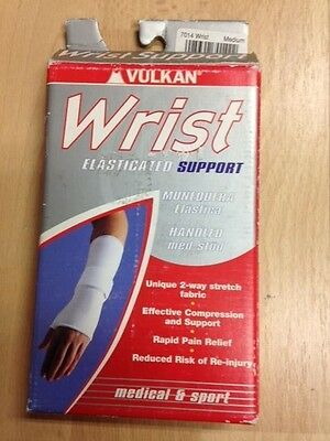 Vulkan Elasticated Wrist Support