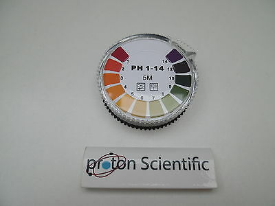 Universal Indicator Paper Fisher Scientific 5m Reel Test paper Ph 1 - 14