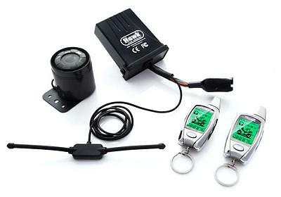 Hawk Silver Lcd 2 Way Pager Motorcycle Alarms & Immobiliser Remote Start