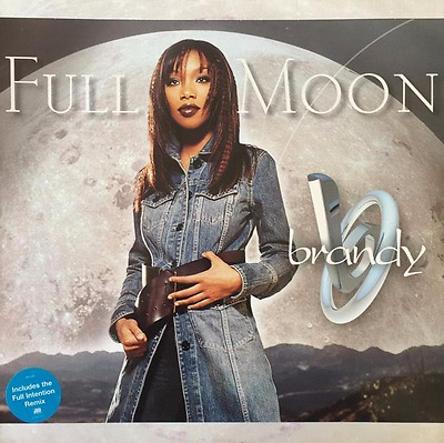 "BRANDY - Full Moon (12"") (VG-/G)"