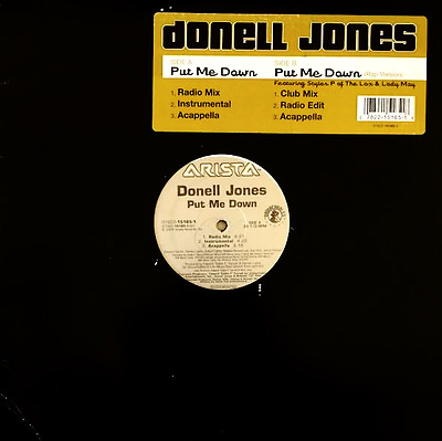 "DONELL JONES ‎- Put Me Down (12"") (VG/G)"