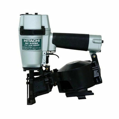 "Hitachi 16 Degree 1-3/4"" Coil Roofing Nailer NV45AB2 Reconditioned"