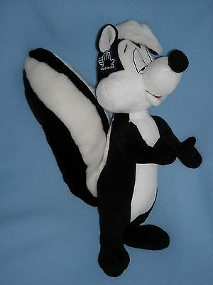 "1994 17"" Pepe Le Pew Skunk Warner Bros Applause Stuffed Animal Plush"