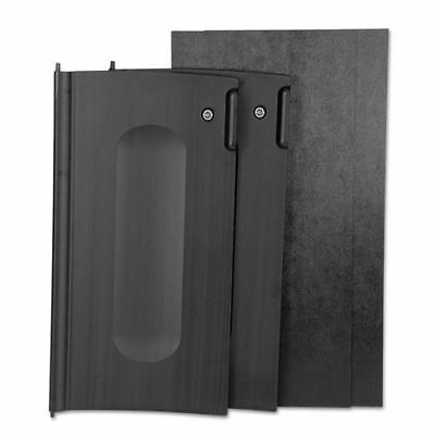 Rubbermaid Locking Cabinet Door Kit (Black) for Rubbermaid Carts 9T85BLA NEW
