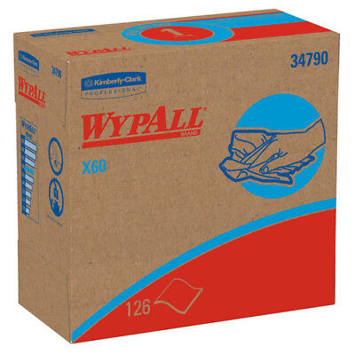 WypAll X60 126 Wipes/Box Nylon Wipes (10-Pack) 34790CT NEW