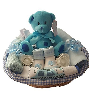 Baby Gift Hamper /Basket Boy.Baby Hamper Boy.Baby Shower Boy Gift.Nappy Cake Boy