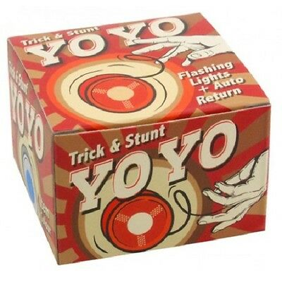 RED Light Up Flashing Trick & Stunt Professional Stunt Yo-Yo toy 27241