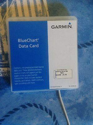 Garmin BlueChart Data Card Golf du Lion à San Remo Cote HEU466S
