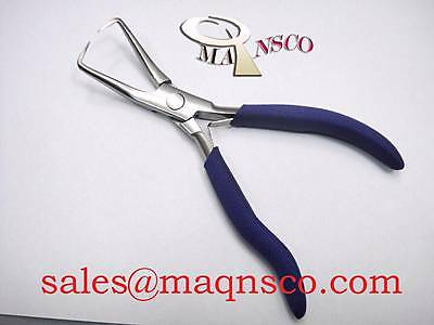 """Hair Extension tools Blue Grip Stainless Steel & Fitting Pliers 5"""""""