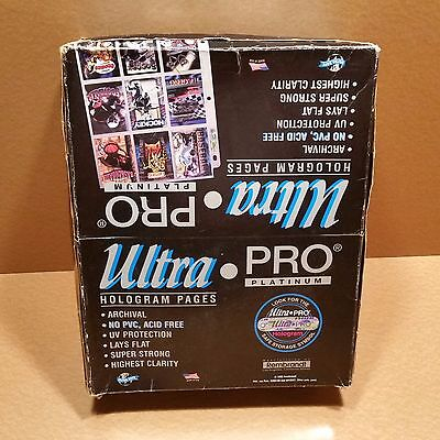 117 Ultra Pro Platinum Hologram Pages + 101 BCW-9T II 9-Pocket Pages = 218 total