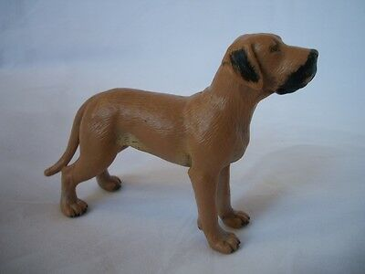 NEW Schleich Retired Brown Great Dane Dog 16320 Dated 1997