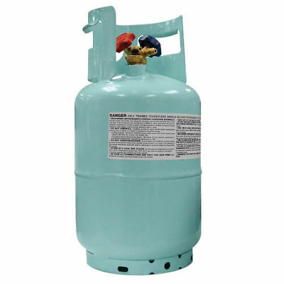 "Mastercool Blue 1/2"" ACME 30 lb. Recovery Cylinder w/ Float Switch 67010 New"