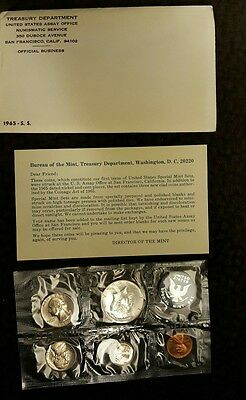 1965 Special Mint Set, Uncirculated Coins