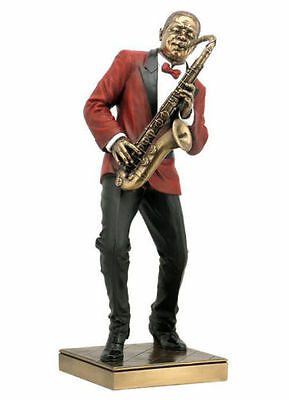 Jazz Band Collection - Saxophone Player Sculpture Musician Statue Figurine