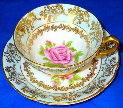 Stanley Gorgeous Pink Rose Vintage Fine Bone China Cup & Saucer