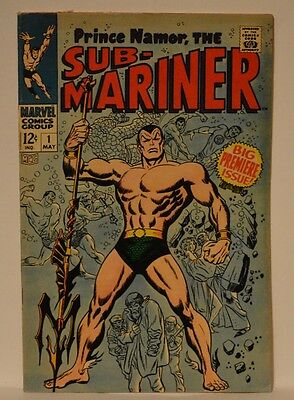 Sub-Mariner #1 (May 1968, Marvel)