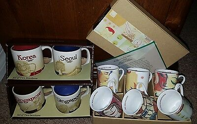 Set RARE LEADERSHIP CONFERENCE, KOREA SEOUL SINGAPORE Starbucks demitasse Mug