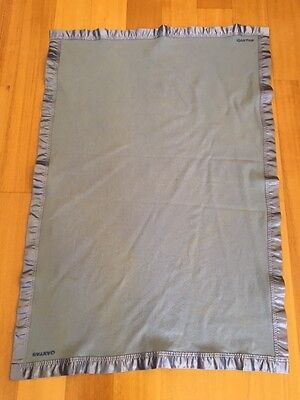 Qantas Airways Baby Blanket Onkaparinga Pure Merino Wool Made In Australia