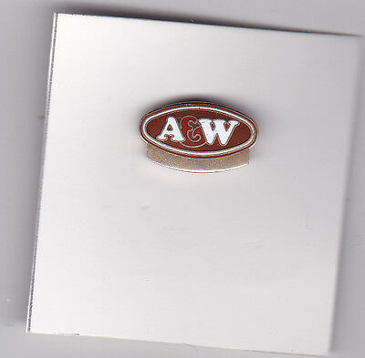 Lapel pin A&W restaurant pin