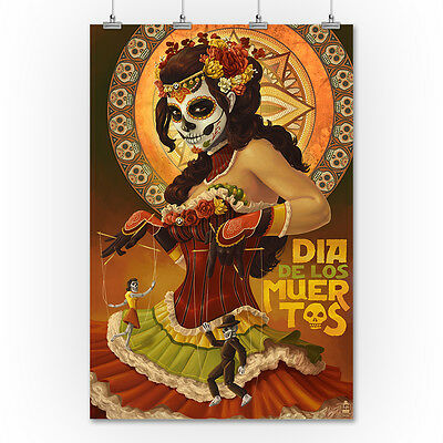 Marionettes - Day of the Dead - LP Artwork (36x54 Giclee Print)