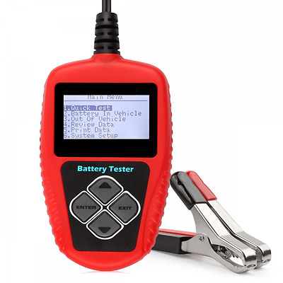 Quicklynks BA101 Battery Tester 100 ~ 2000 Cold Cranking Amps 12V