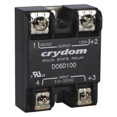 CRYDOM D06D60 Solid State Relay,3.5 to 32VDC,60A
