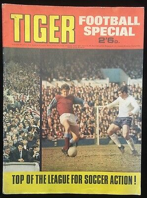 Tiger Football Special 1969 - 1st One! - Summer Holiday Fun - Complete Untouched